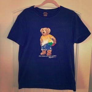 Polo Bear beach style T-shirt from Hawaii